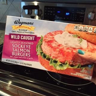 salmon burger box