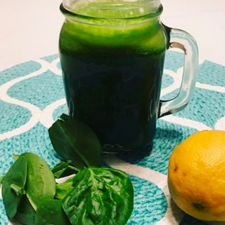 spinach and lemon