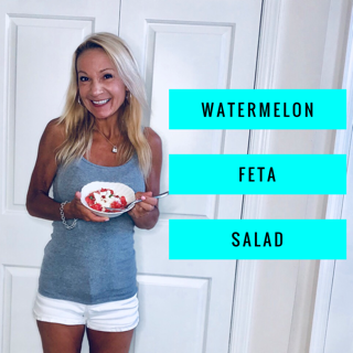watermelon feta eliz