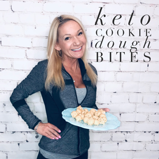 keto cookie dough bites